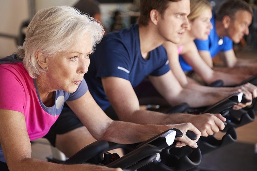 Spin class group fitness classes phoenix az