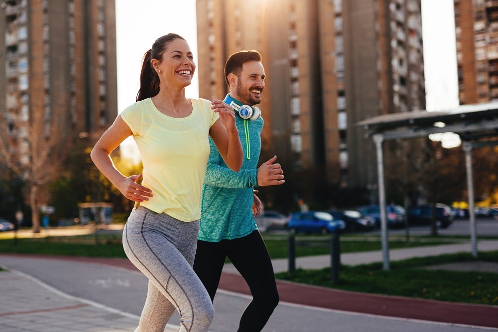 Running fitness benefits