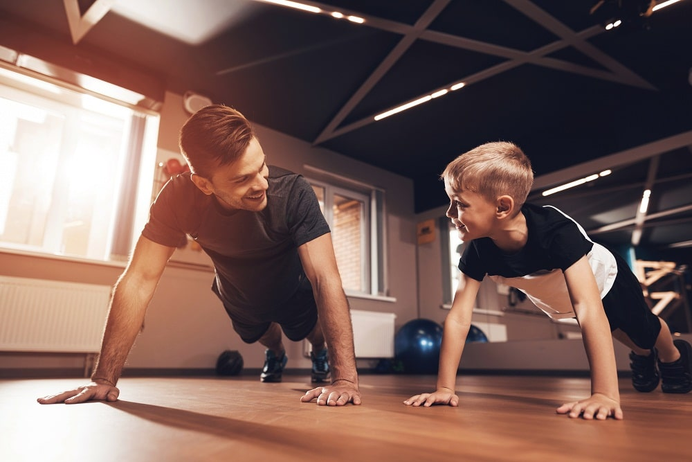 Family fitness center phoenix az Father and Son