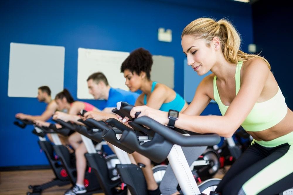 Spin class exercise classes near phoenix az