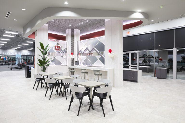 Cafe lobby