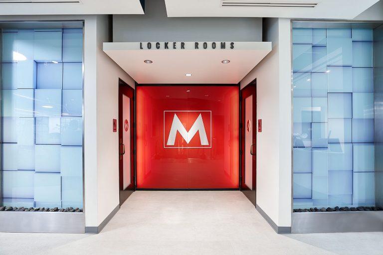 Locker Room Entrance