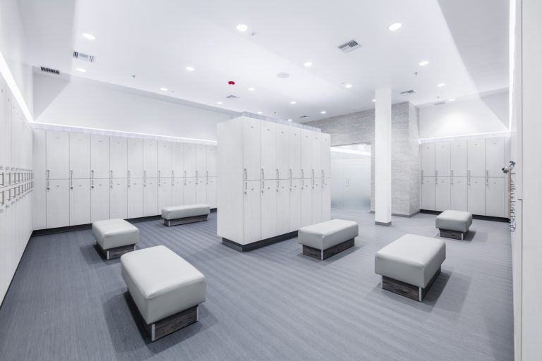 Luxury Locker Rooms