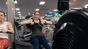 Rowing Woman