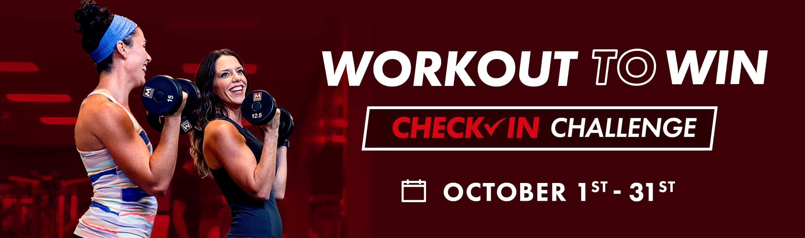 workout to win check-in challenge