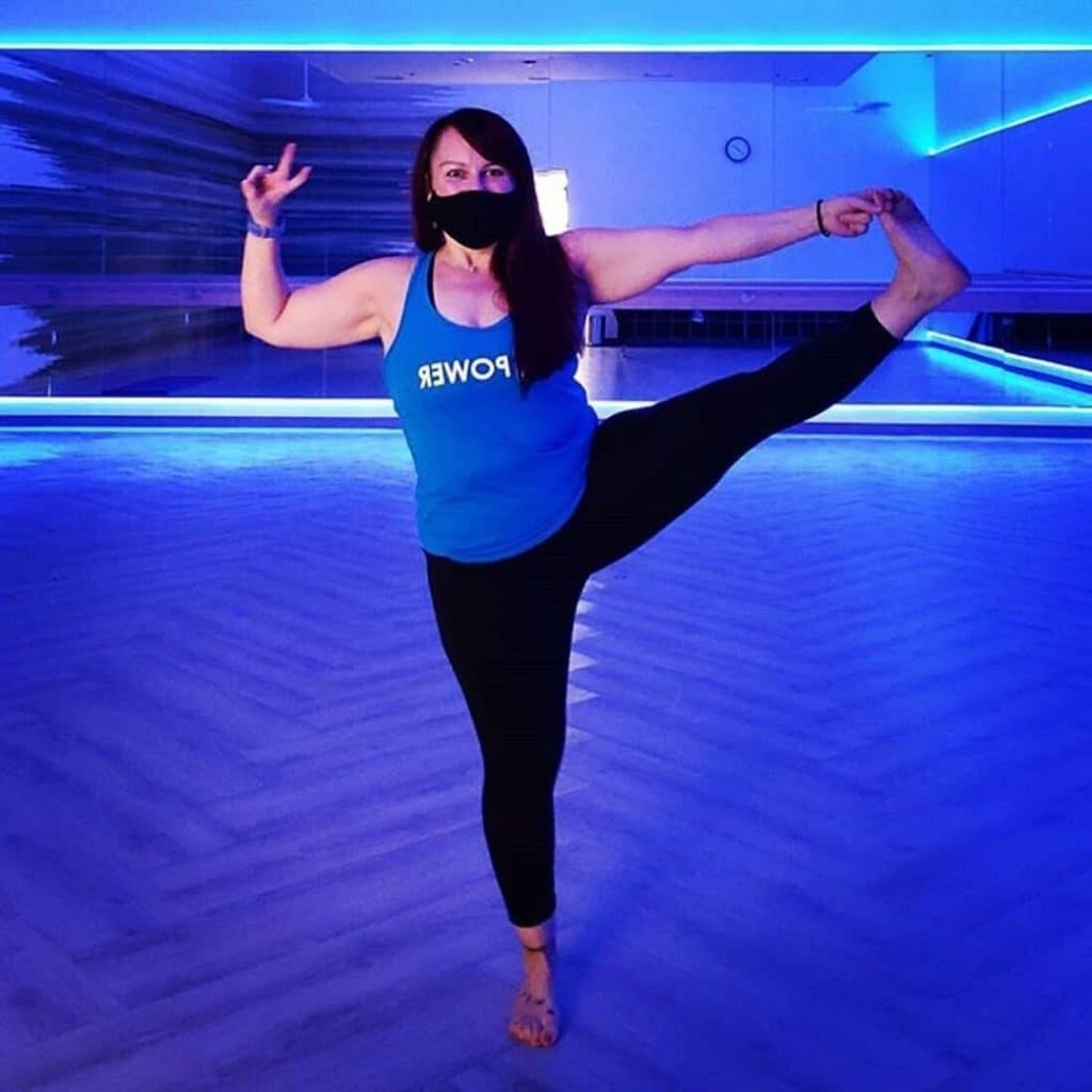 yoga at mountainside fitness